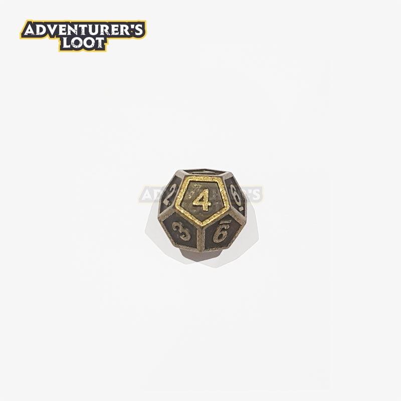 metal-dice-antique-gold-d12
