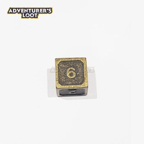 metal-dice-antique-gold-d6