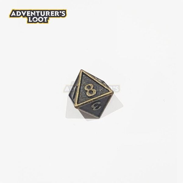 metal-dice-antique-gold-d8