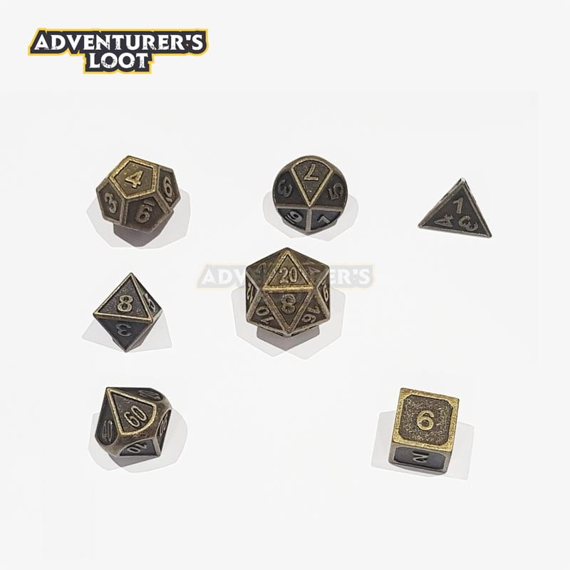 metal-dice-antique-gold-dice-set