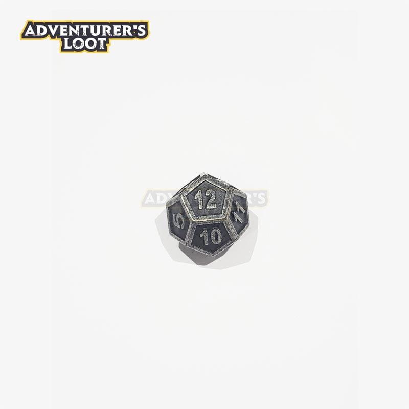 metal-dice-antique-nickel-d12