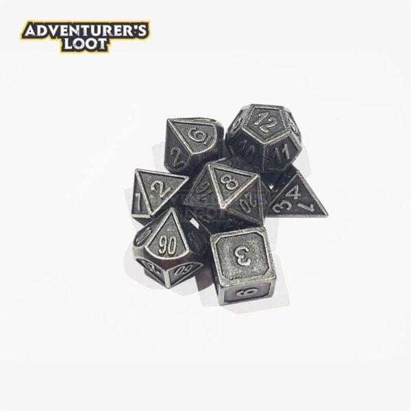 metal-dice-antique-nickel-dice-set-stack
