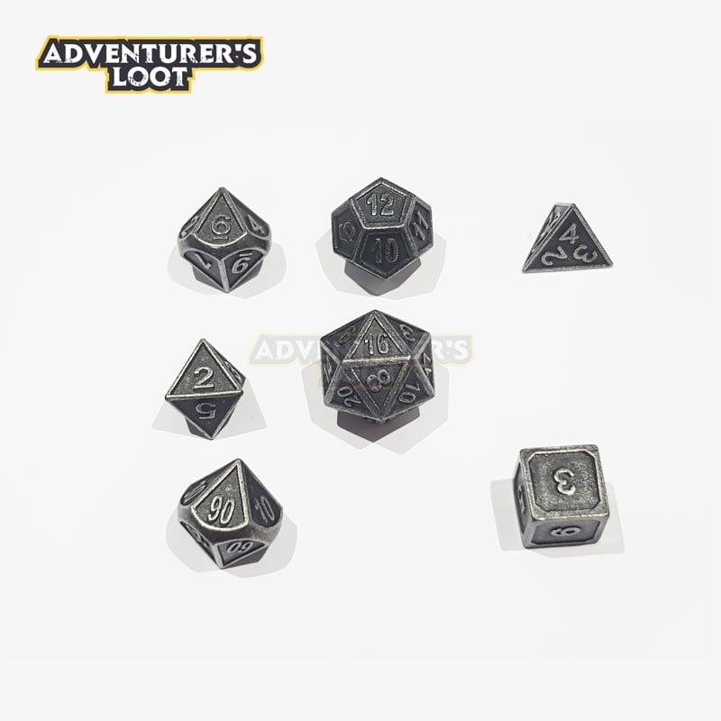 metal-dice-antique-nickel-dice-set