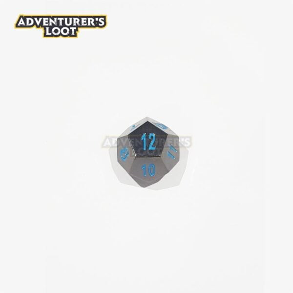 metal-dice-black-nickel-blue-dice-d12