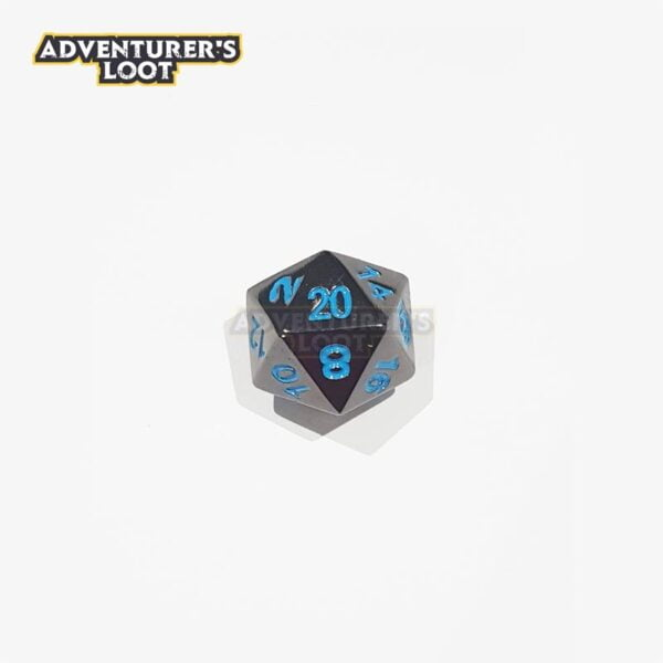 metal-dice-black-nickel-blue-dice-d20