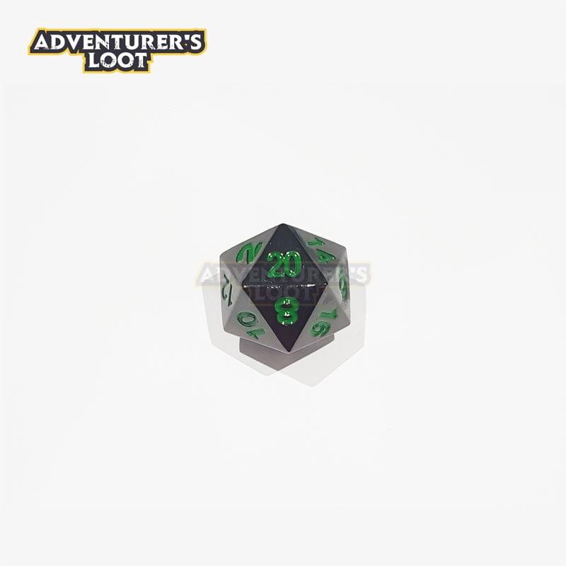 metal-dice-black-nickel-green-dice-d20