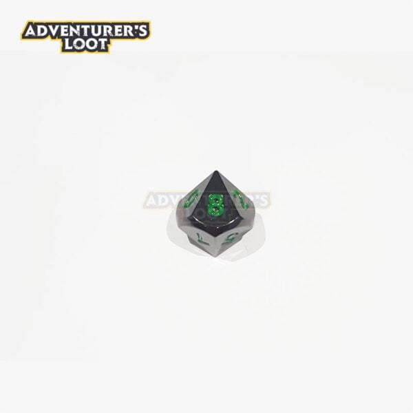 metal-dice-black-nickel-green-dice-d10