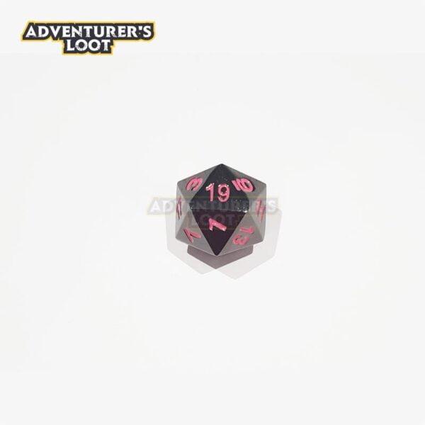 metal-dice-black-nickel-pink-dice-d20
