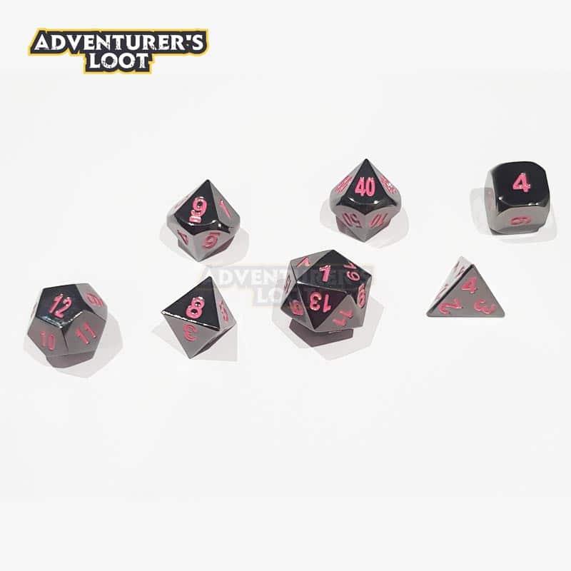 metal-dice-black-nickel-pink-dice-set-dice-line
