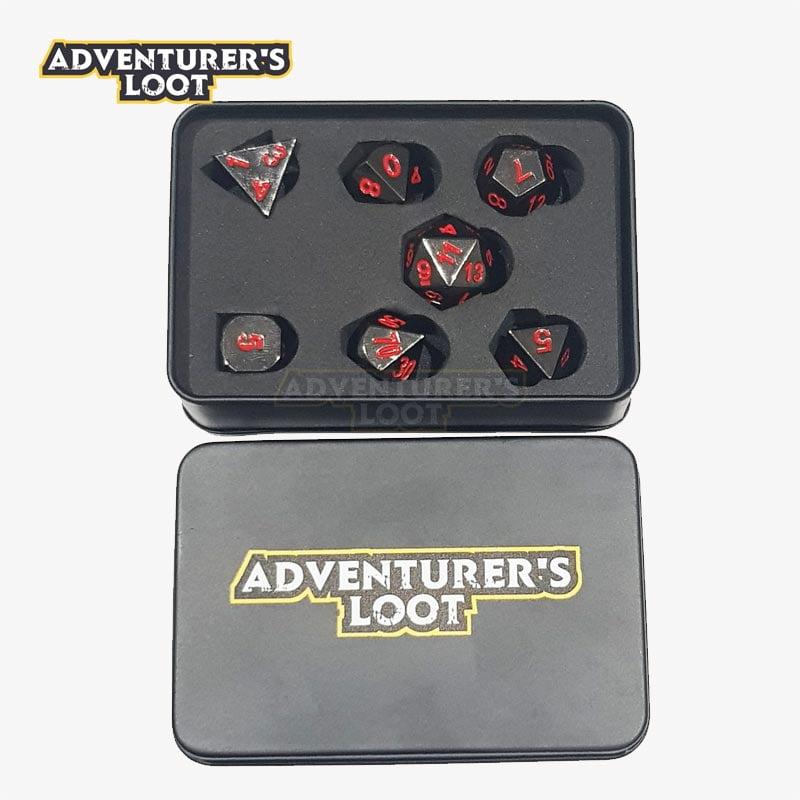 metal-dice-black-nickel-red-dice-set-dice-tin