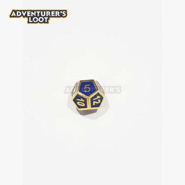 metal-dice-blue-gold-dice-d12