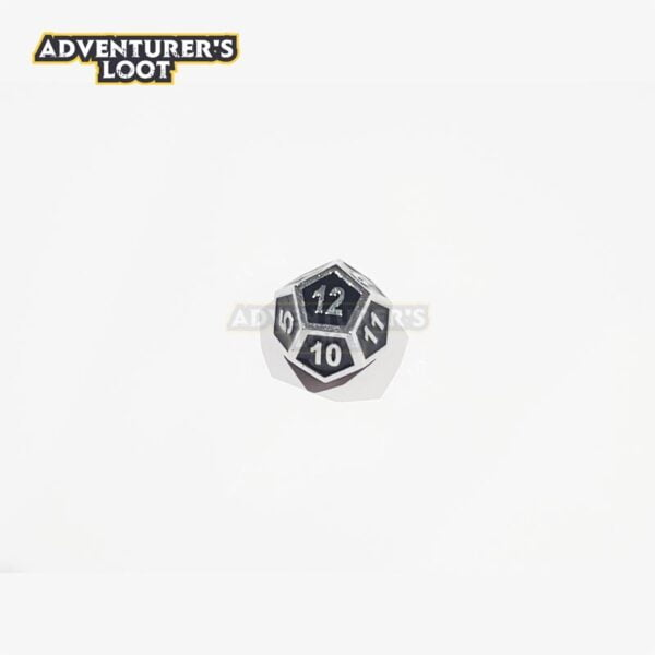 metal-dice-chrome-black-dice-d12