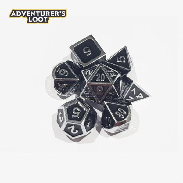 metal-dice-chrome-black-dice-set-stack