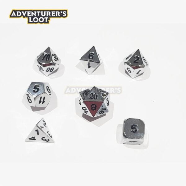 metal-dice-chrome-dice-set
