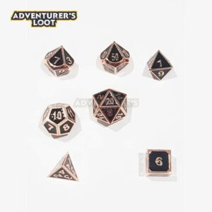 metal-dice-copper-black-dice-set