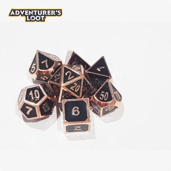 metal-dice-copper-black-dice-set-dice-stack