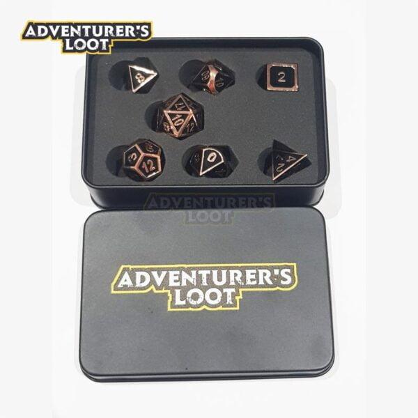 metal-dice-copper-black-dice-set-dice-tin
