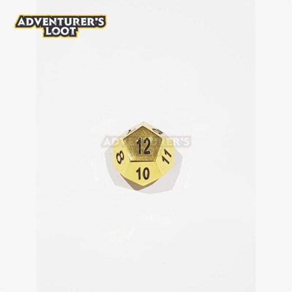 metal-dice-gold-dice-d12