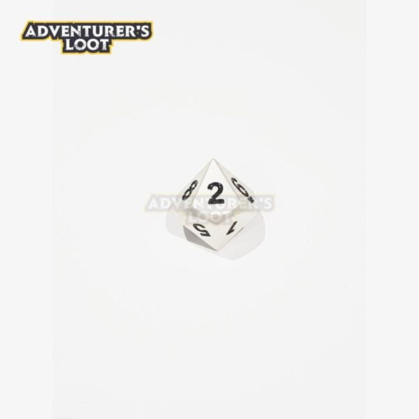 metal-dice-pearl-silver-dice-d10