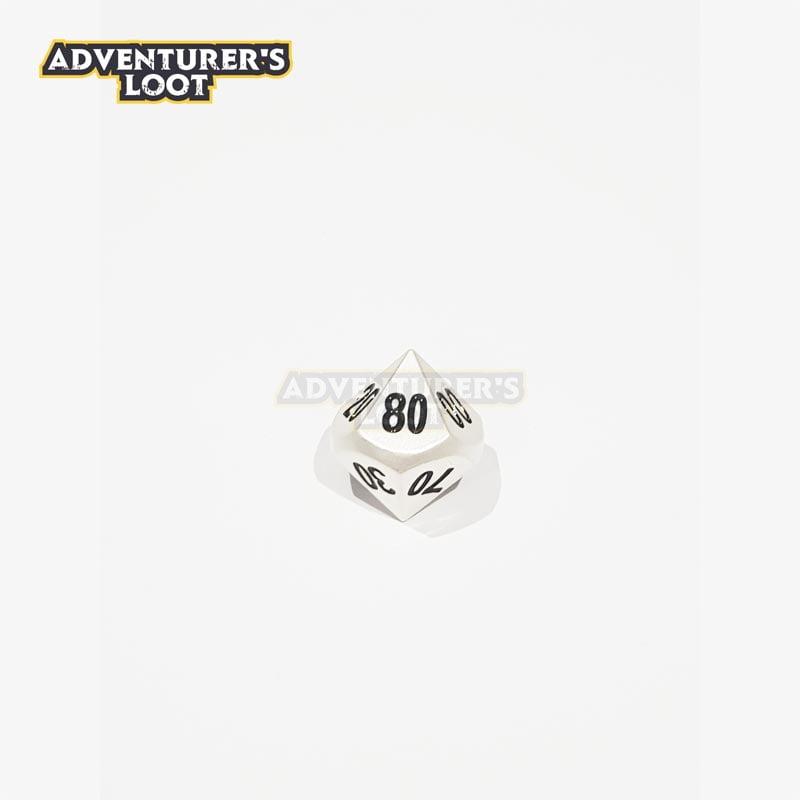 metal-dice-pearl-silver-dice-d100