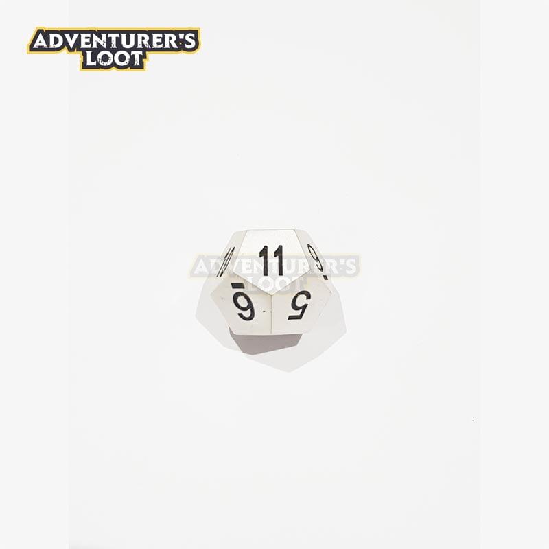 metal-dice-pearl-silver-dice-d12