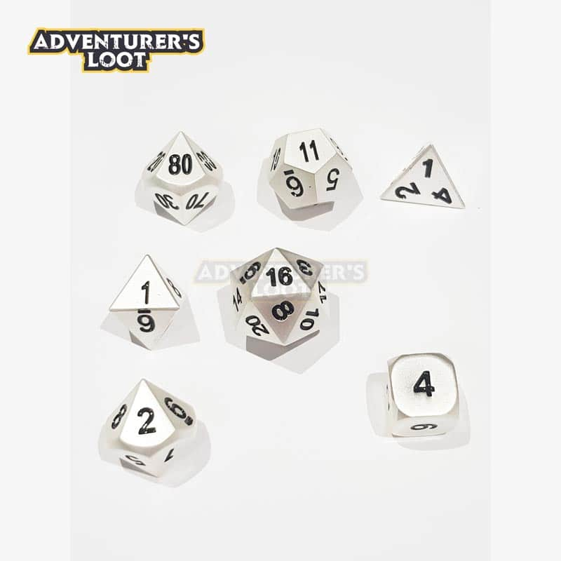 metal-dice-pearl-silver-dice-set