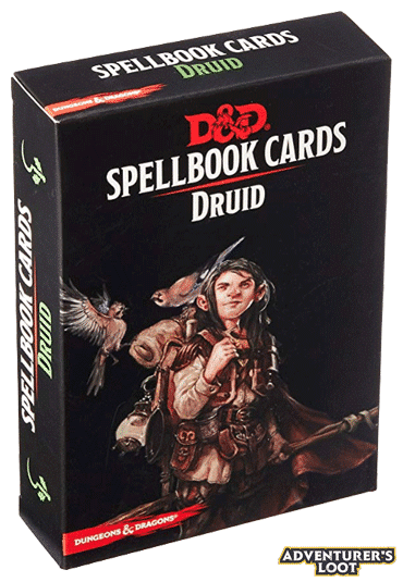 Spellbook Cards Druid Deck Front