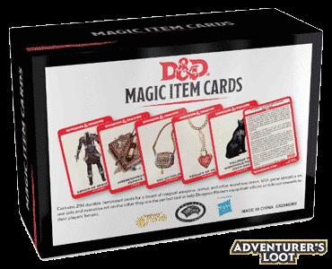 Spellbook Cards Magic Item Deck Back