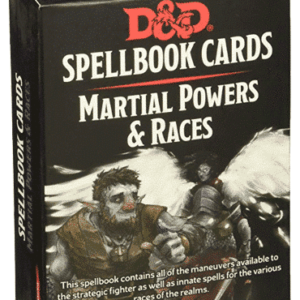 Spellbook Cards Martial Powers and Races Deck