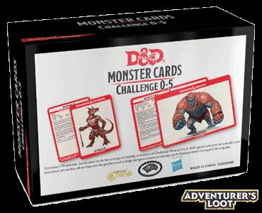 Spellbook Cards Monster Cards 0-5 Deck Back