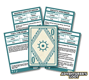 Spellbook Cards Xanathars Guide Deck Cards