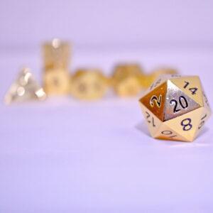 Gold-Metal-Dice---D20